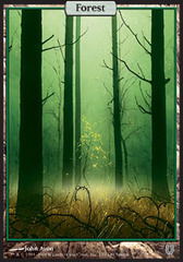 Forest (140) - Foil on Channel Fireball