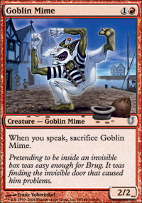 Goblin Mime - Foil