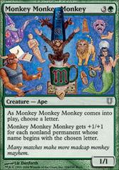 Monkey Monkey Monkey - Foil