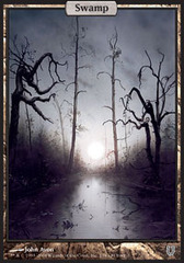 Swamp (138) (Full Art) - Foil