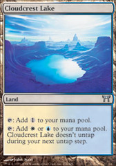 Cloudcrest Lake - Foil on Channel Fireball