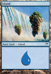 Island (291) - Foil on Channel Fireball