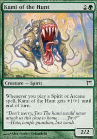Kami of the Hunt - Foil