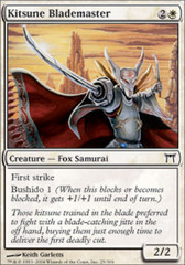 Kitsune Blademaster - Foil