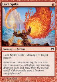 Lava Spike - Foil