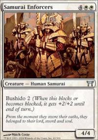 Samurai Enforcers - Foil
