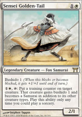 Sensei Golden-Tail - Foil