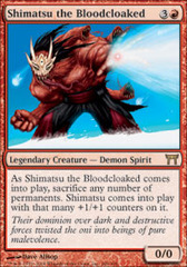 Shimatsu the Bloodcloaked - Foil