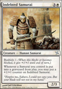 Indebted Samurai - Foil