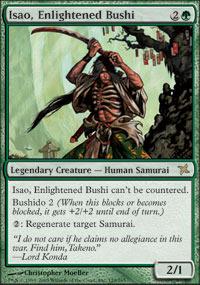 Isao, Enlightened Bushi - Foil