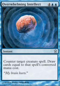 Overwhelming Intellect - Foil