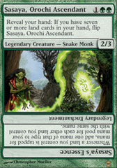 Sasaya, Orochi Ascendant - Foil