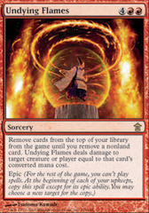 Undying Flames - Foil