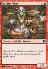 Goblin Piker - Foil on Channel Fireball