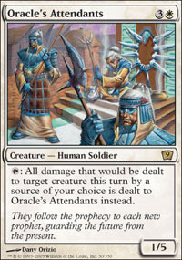 Oracles Attendants - Foil