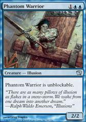 Phantom Warrior - Foil on Channel Fireball