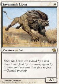 Savannah Lions - Foil