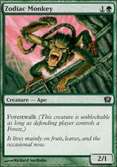 Zodiac Monkey - Foil