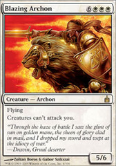 Blazing Archon - Foil on Channel Fireball