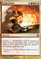 Brightflame - Foil on Channel Fireball