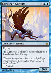 Cerulean Sphinx - Foil on Channel Fireball