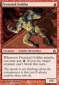 Frenzied Goblin - Foil
