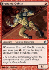 Frenzied Goblin - Foil