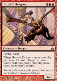 Hunted Dragon - Foil