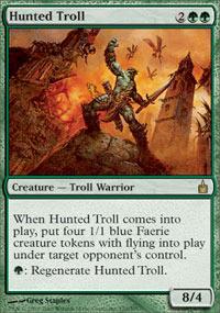 Hunted Troll - Foil