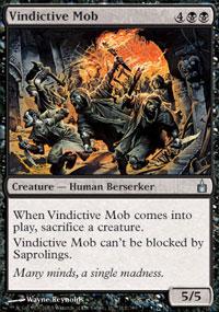Vindictive Mob - Foil