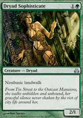 Dryad Sophisticate - Foil on Channel Fireball