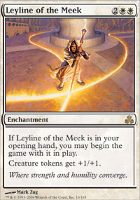 Leyline of the Meek - Foil
