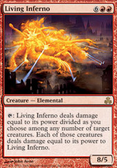 Living Inferno - Foil on Channel Fireball