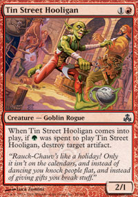 Tin Street Hooligan - Foil
