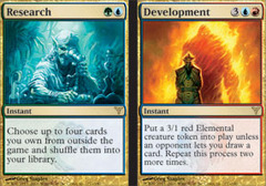 Research // Development - Foil