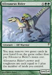 Allosaurus Rider - Foil on Channel Fireball