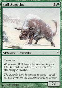 Bull Aurochs - Foil