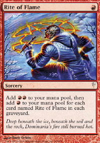 Rite of Flame - Foil