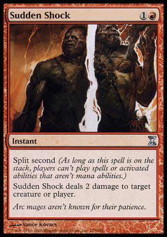 Sudden Shock - Foil