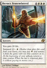 Heroes Remembered - Foil