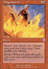 Dragonstorm - Foil on Channel Fireball