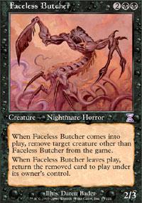 Faceless Butcher - Foil