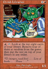 Orcish Librarian - Foil