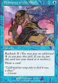 Whispers of the Muse - Foil