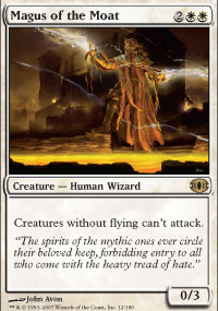Magus of the Moat - Foil