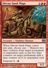 Shivan Sand-Mage - Foil