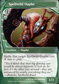 Spellwild Ouphe - Foil