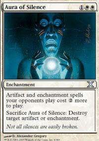 Aura of Silence - Foil
