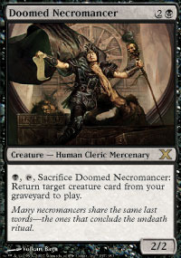 Doomed Necromancer - Foil