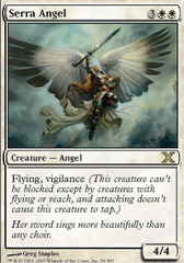 Serra Angel - Foil on Channel Fireball